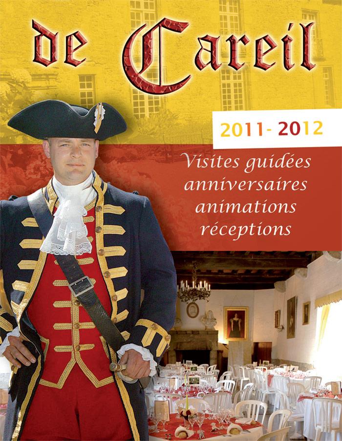 Dépliant Château de Careil
