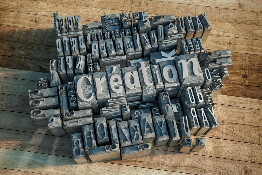Typographie, glyphes d'imprimerie