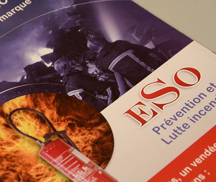 plaquette entreprise ESO 85