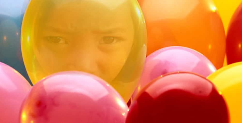 reflet ballons