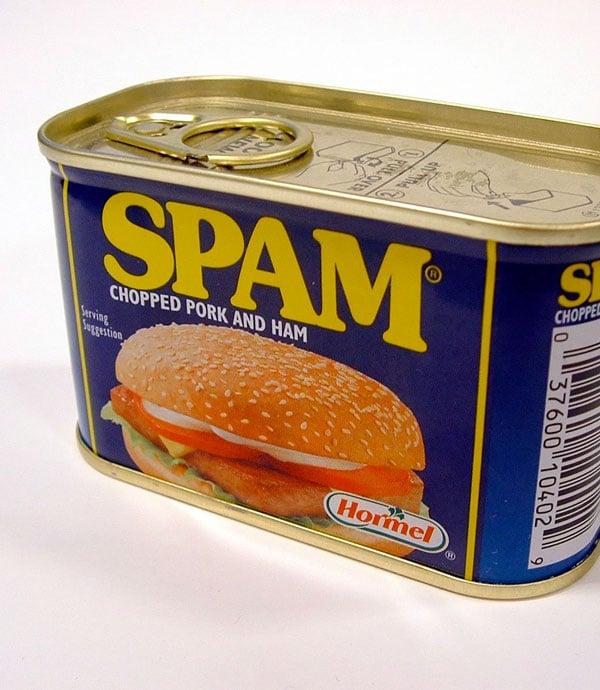 Les SPAM, la viande de cochon