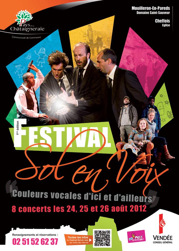 Affiche du festival Sol en Voix