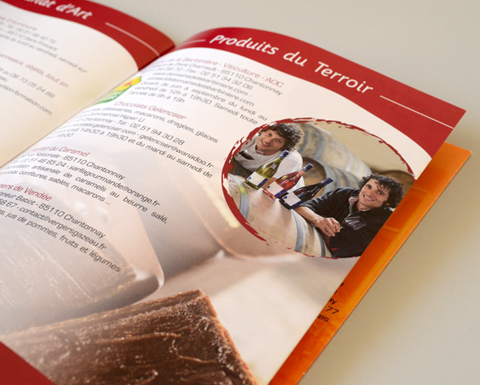 Brochure Tourisme Chantonnay
