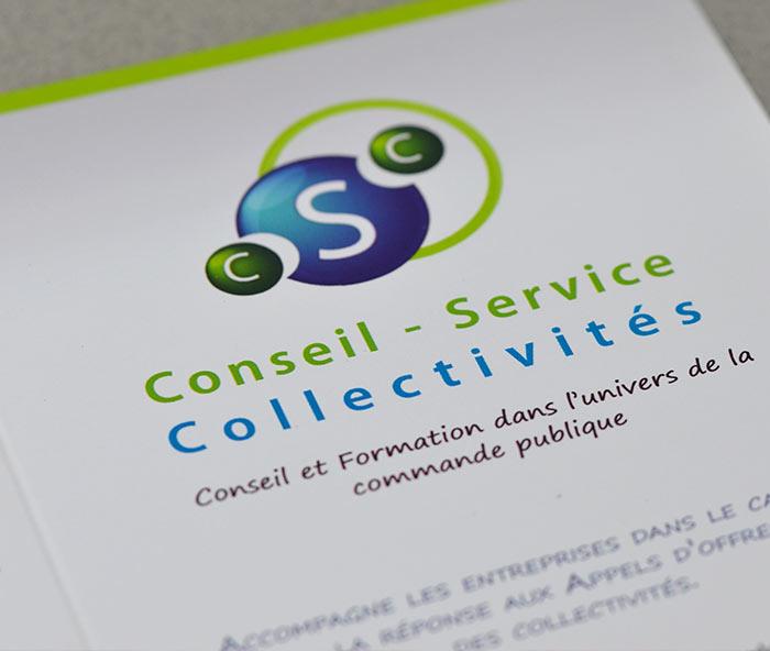 Plaquette conseil service collectivité