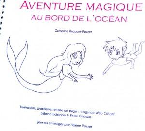 Alignement centré dan sle livre Aventures magiques au bord de l'océan