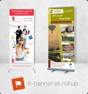 Enrouleur ( roll up, banner roll up, x-banner)