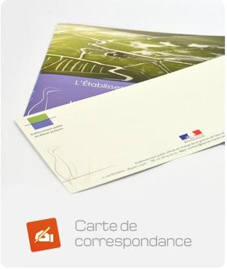 carte de correspondance EPMP