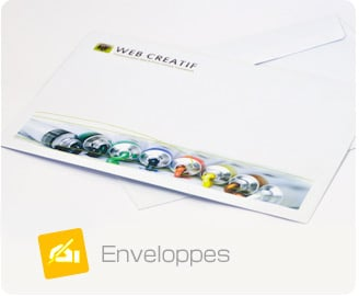 Enveloppe Web Créatif