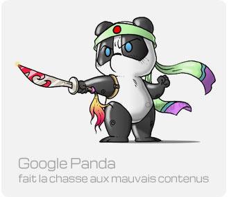 Google Panda en guerre contre les mauvais sites
