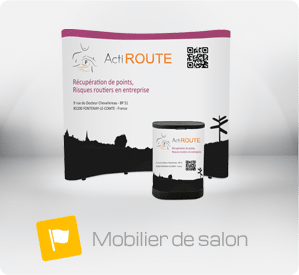 Le stand portable / stand pliable