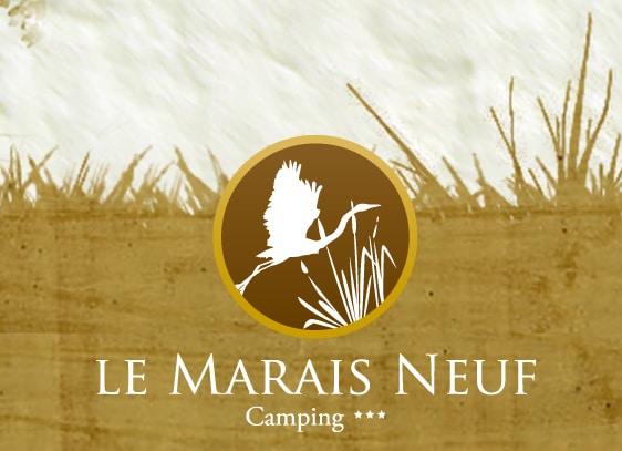 Logo camping le Marais Neuf