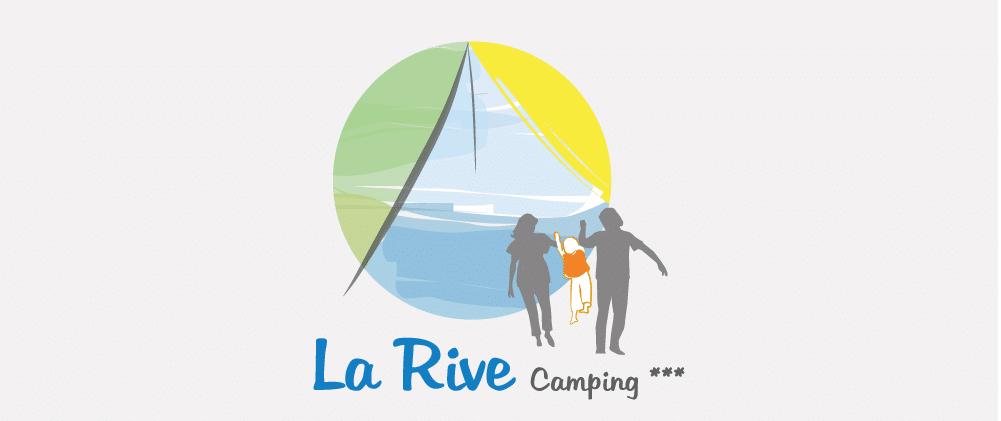 Logo Camping la Rive 3 étoiles