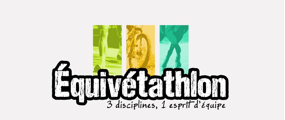 Logo Equivetathlon sur le flyer A5