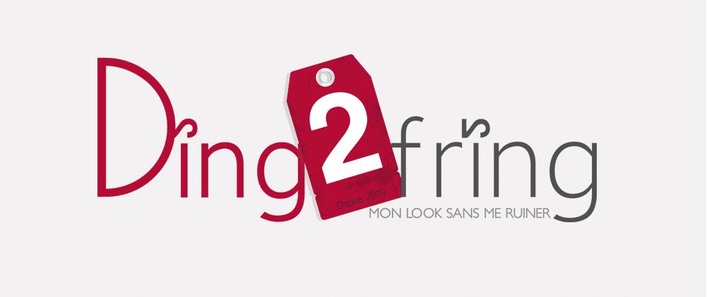 Logo Magasin de vêtement Ding2fring