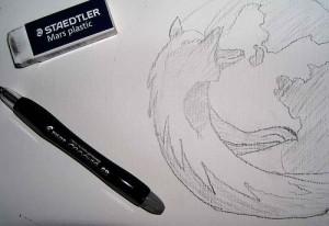 croquis logo firefox