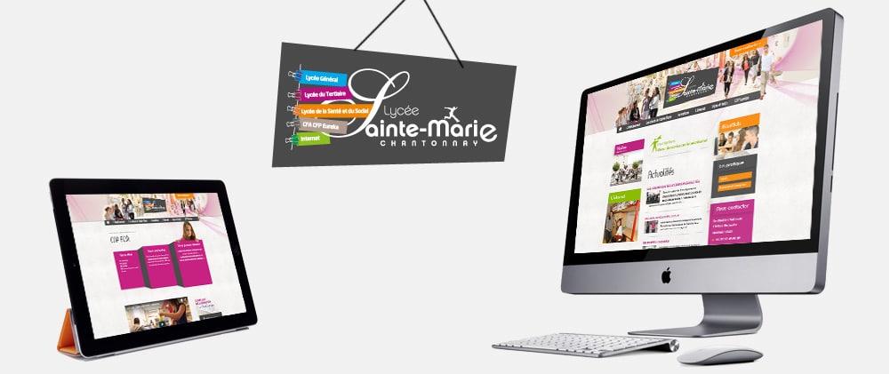 Site Web Lycée de Chantonnay