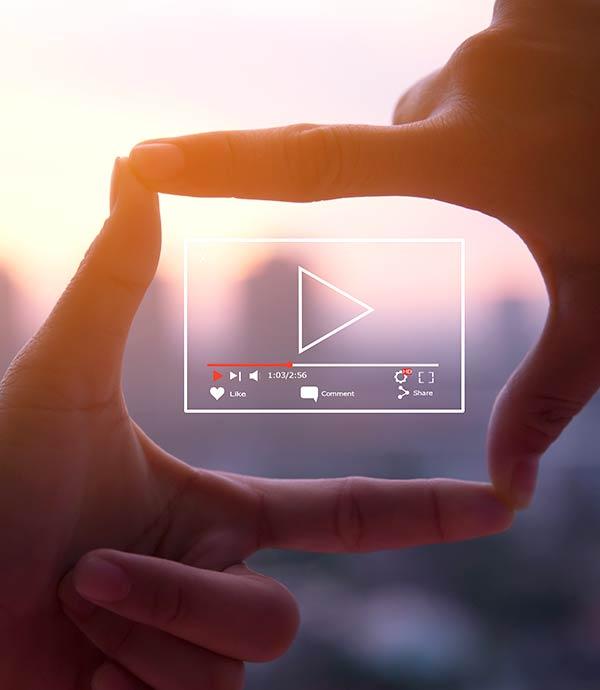 La vidéo touristique, media montant