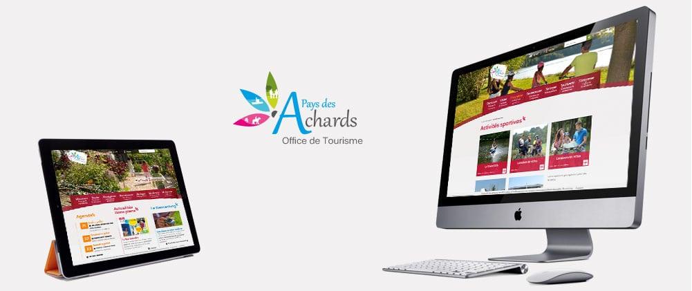 Site web Office de tourisme des Achards