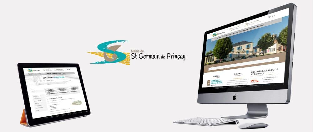 Portfolio site mairie stgermain