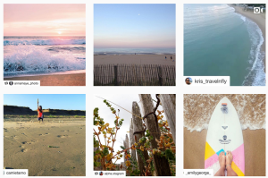 Exemples de repost sur Instagram