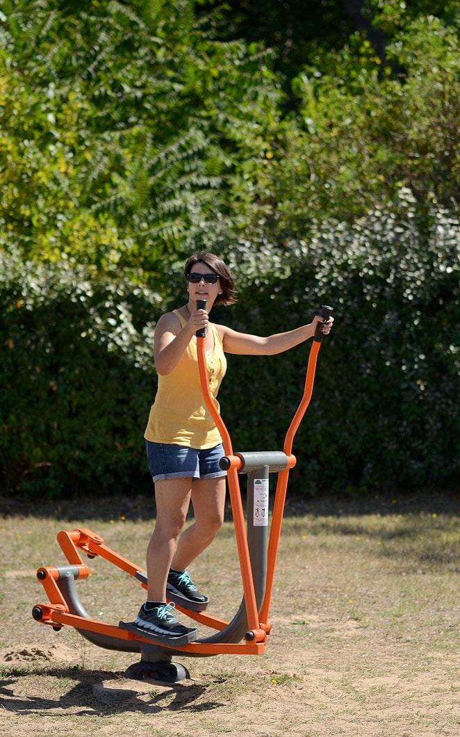 Fitness machines - copyright Sabrina Echappe