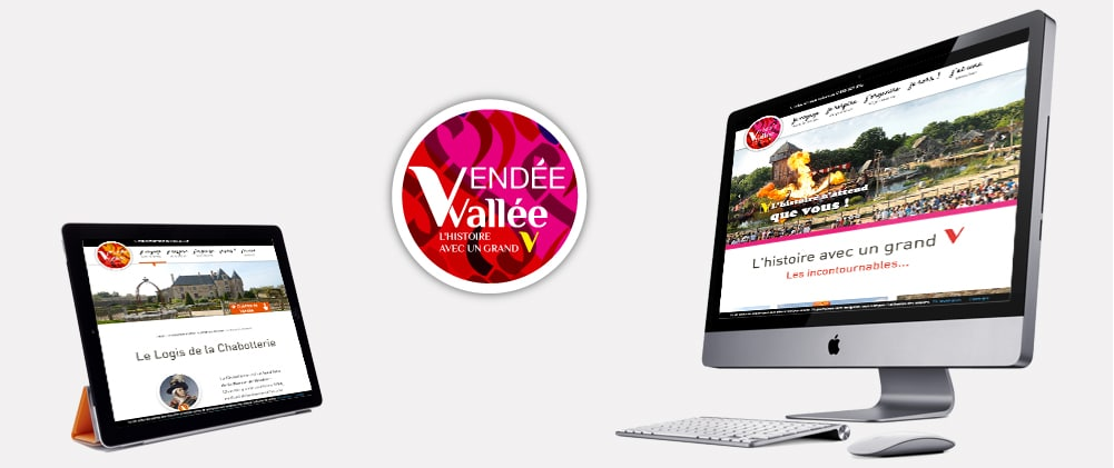 Site responsive Vendée Vallée