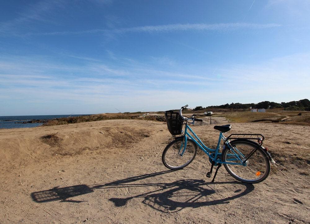 Vélo bord de mer - copyright Sabrina Echappe