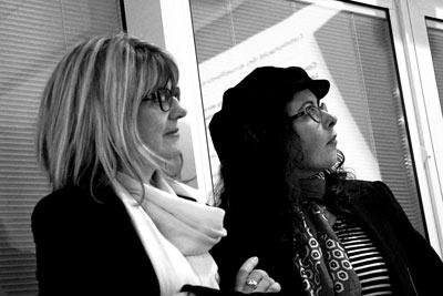 Michèle et Sabrina, conférencières