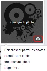 Photo de profil Facebook