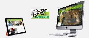 Site internet d'artisan : nouveau site pour la menuiserie Barré