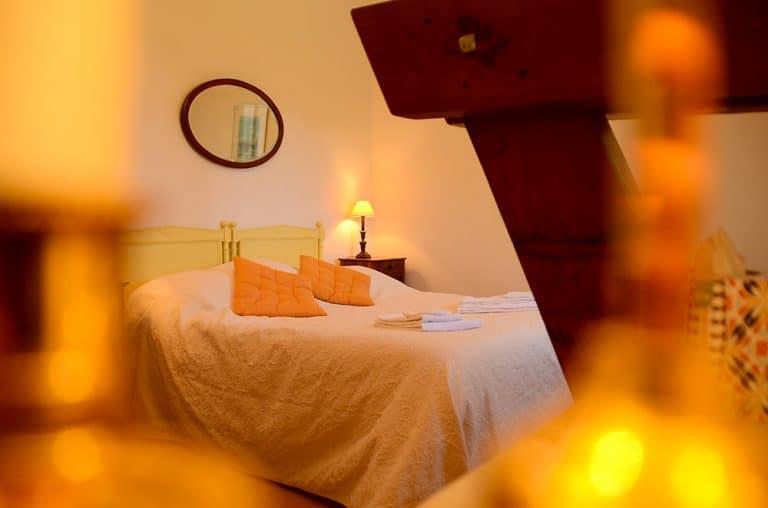Photographe hotelier : détail d'une chambre