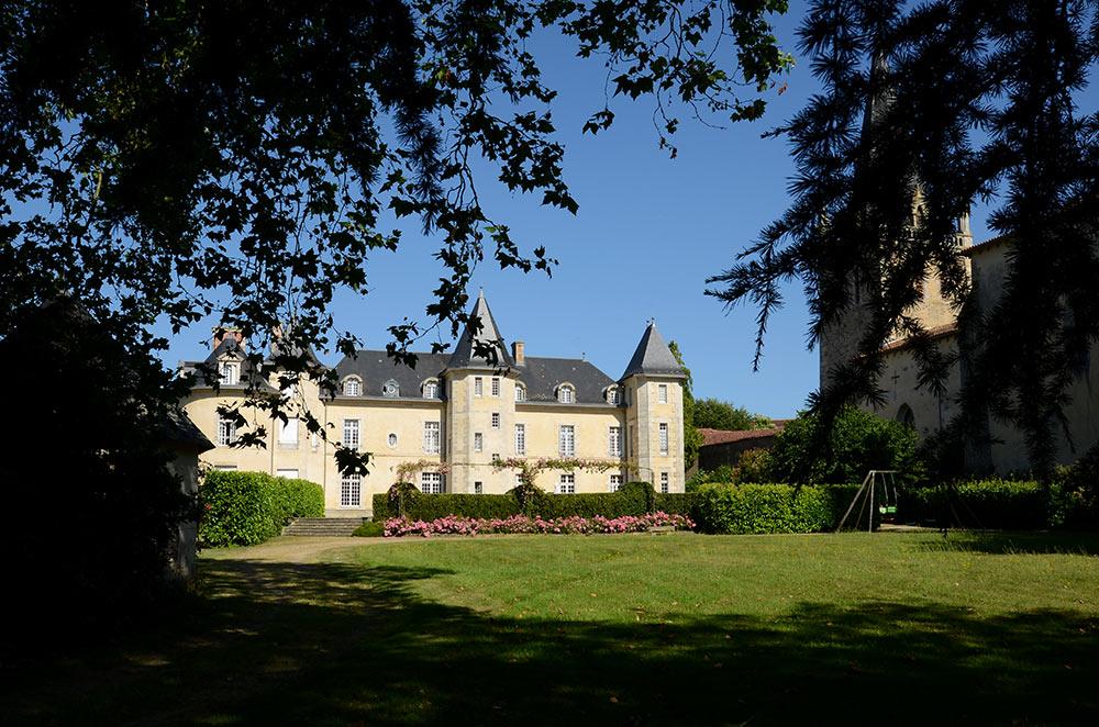Hotel de luxe dans un chateau