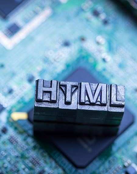 Langage HTML pour un site internet
