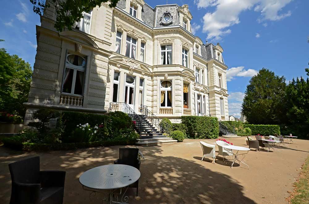 Reportage photo d'un chateau hotel