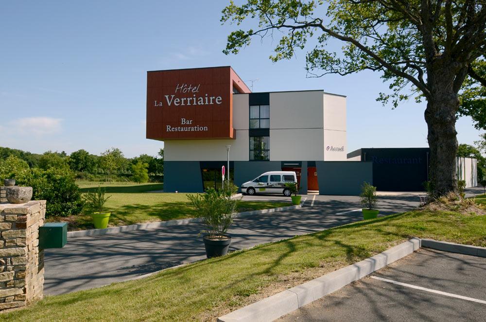 Reportage photo hotelier à la Verriaire