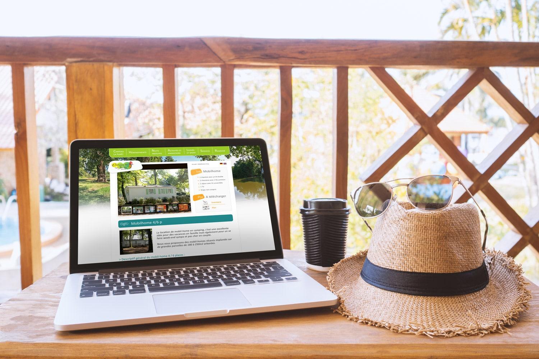 Site de camping, réservation mobile home