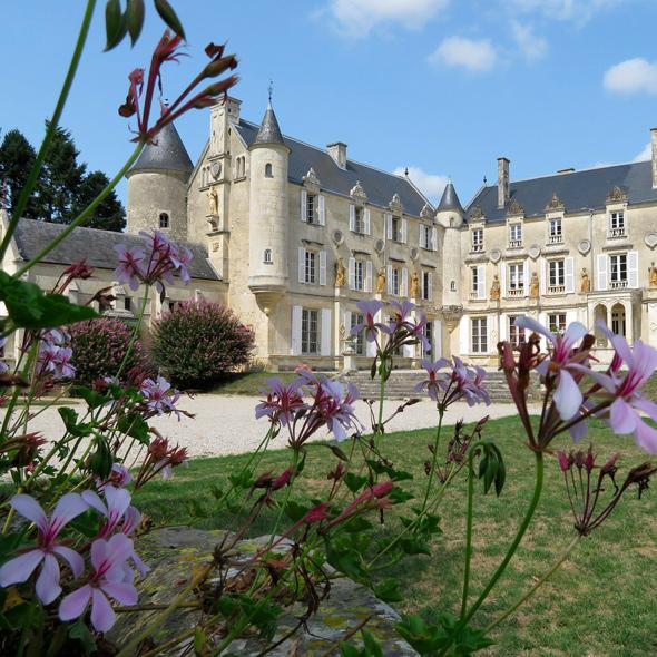 Contenu formation gîte et chambre d'hôtes, château de Fontenay-le-compte