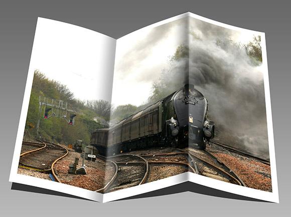 Chemin de fer en brochure