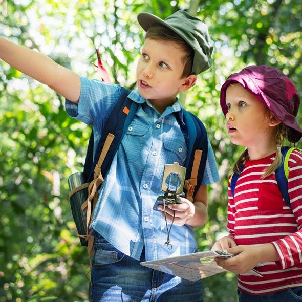 Contenu et thèmes visite guidée pour les enfants