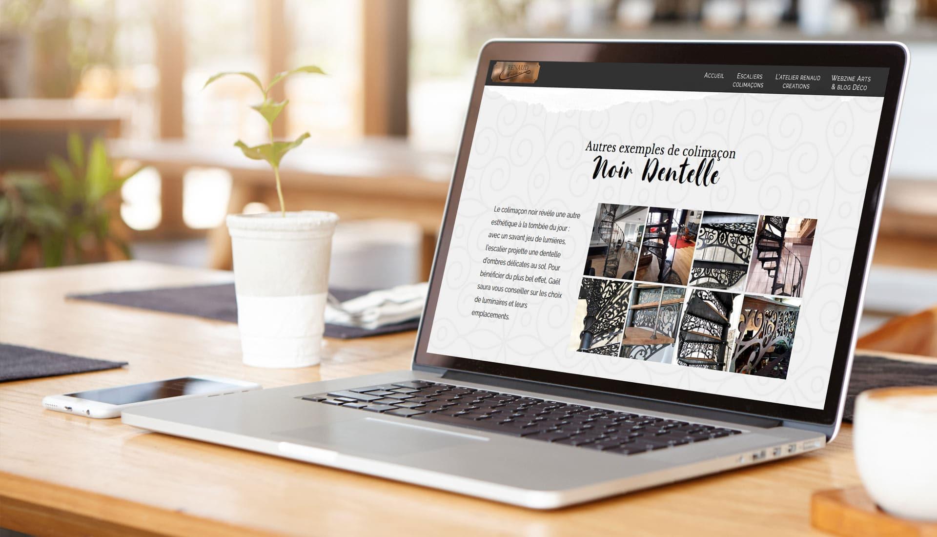 site internet ferronnier d'art