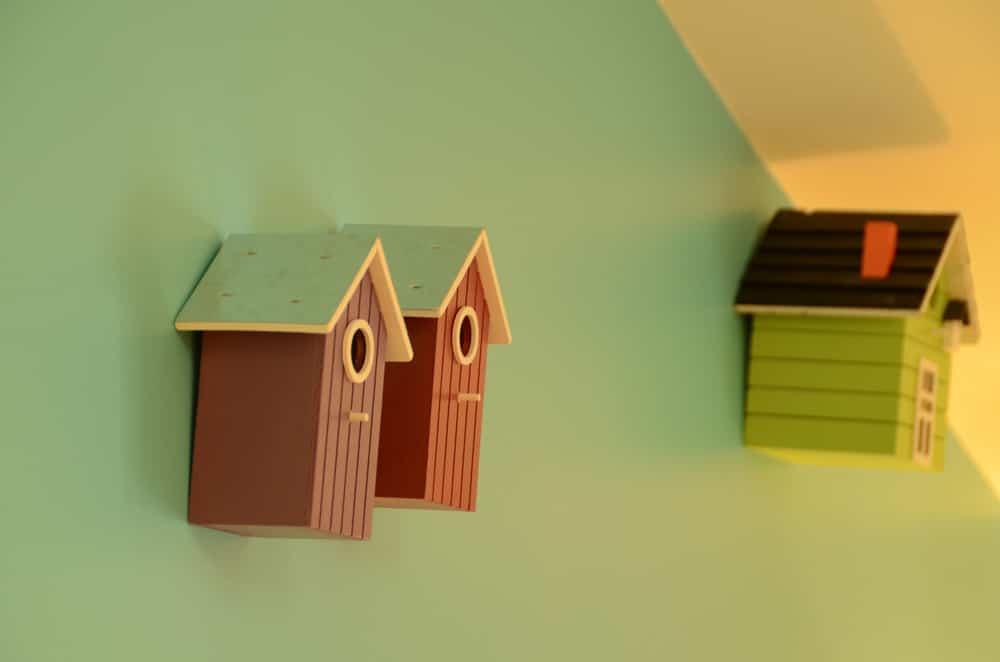 Cabane à oiseau décoration, copyright Sabrina Echappe