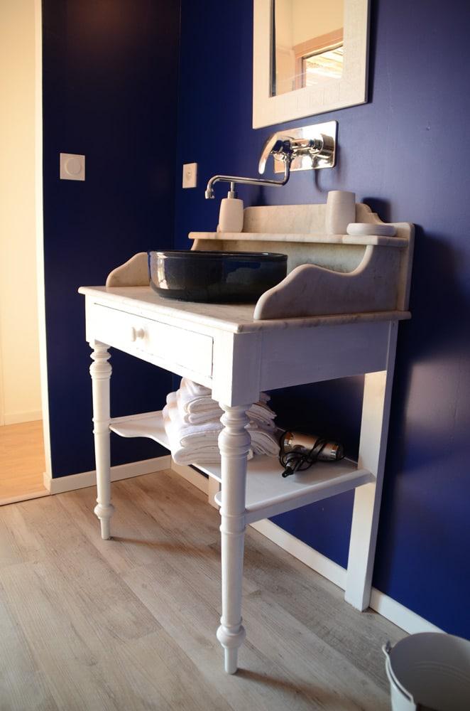 Lavabo salle de bain - copyright Sabrina Echappe